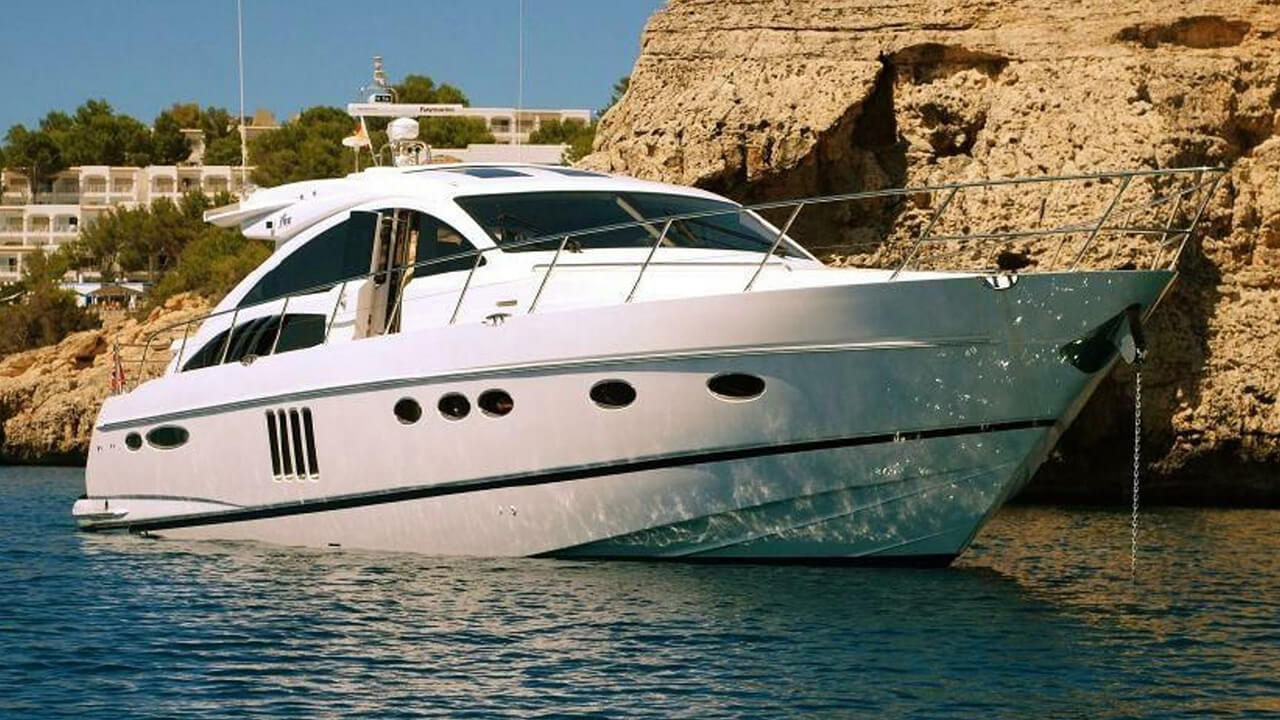 Hourly Rental Of The Motor Yacht Princess V62 Dyt
